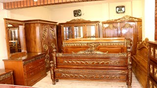 সেগুন কাঠের এন্টিক ডিজাইনের এন্টিক ফার্নিচার কালেকশন/In Fact, Antique Furniture Collection At Such A
