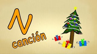 Abc Alphabet Song En Español  La  N Cancion  Canciones Infantiles
