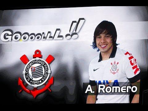 Ángel Romero agradece a torcida