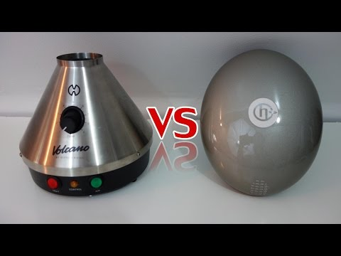 Volcano VS Herbalizer! (Desktop Vaporizer Comparison)