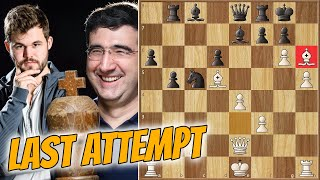 Barbarian Mode On! || Kramnik Vs Carlsen || Chess24 Legends Of Chess (2020)