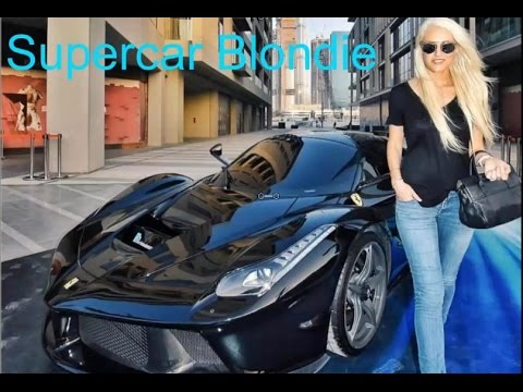 Beautiful Blonde Guy Driving Supercar Make A Living | Car And Girl