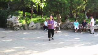 Video : China : Local activities in BeiJing's parks 北京