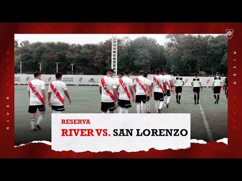 River Plate 2 vs. San Lorenzo 1 [Reserva- Partido completo]