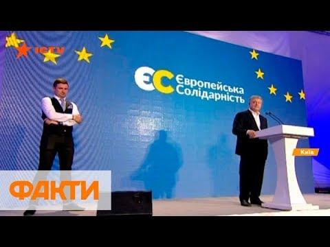 Реакция Порошенко на результаты Европейской солидарности