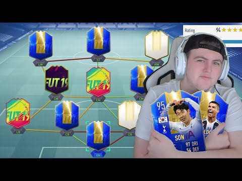 I RATE YOUR TEAMS! 🔥 INSANE FIRST OWNER STRIKE FORCE! #FIFA19 ULTIMATE TEAM