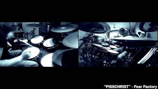 Pisschrist - Fear Factory Roland TD 30KV V Drum Cover by THE V DRUMMER