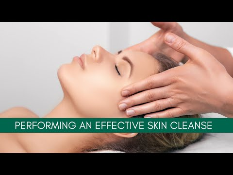 Performing an Effective Skin Cleanse   Cosmetic Courses