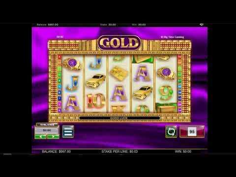 Tragamonedas Gratis Gold de Big Time Gaming