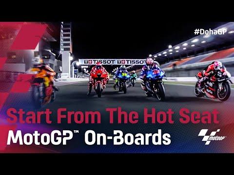 MotoGP 2021 第2戦ドーハGP 決勝レースをシートポジションから見る動画
