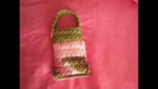 Cell Phone Pouch 2 From CROCHET GEEK