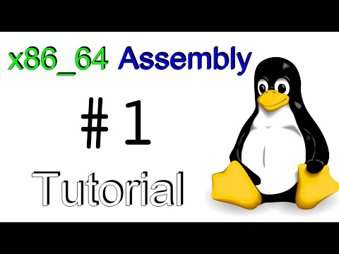 "x86_64 Linux Assembly #1 – ""Hello, World!"""
