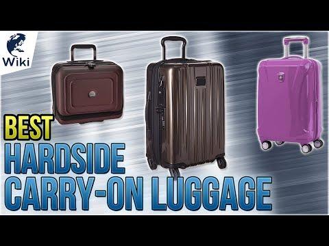 10 Best Hardside Carry-On Luggage 2018