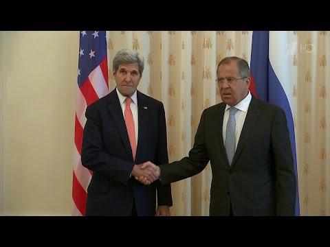 Владимир Путин и Джон Керри провели переговоры и официальные, и с глазу на глаз.