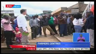 KTN Prime: Olx sets up centers to collect farmers goods and bridge the gap online, 16/11/16