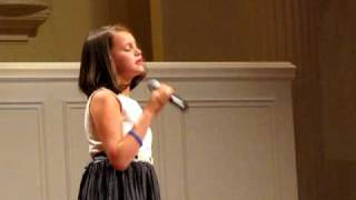 Jaycie sings Faith Hill's A Baby Changes Everything