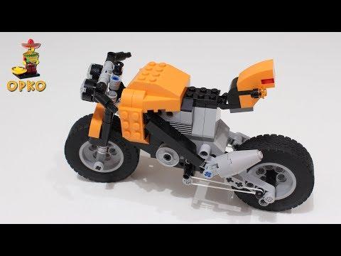 Vidéo LEGO Creator 7291 : La moto