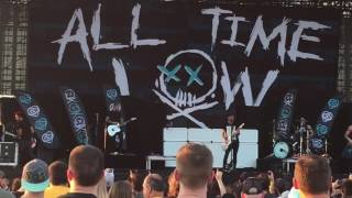 "All Time Low ""Dancing With A Wolf"" Hershey 8-27-16"