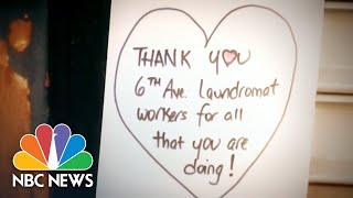 Surge Of Handwritten Cards Show Sympathy And Thanks During Coronavirus | NBC Nightly News