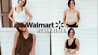 MINI WALMART STYLE HAUL| DIY Athleisure Outfits From Walmart *how To Style MUST HAVES From Walmart*