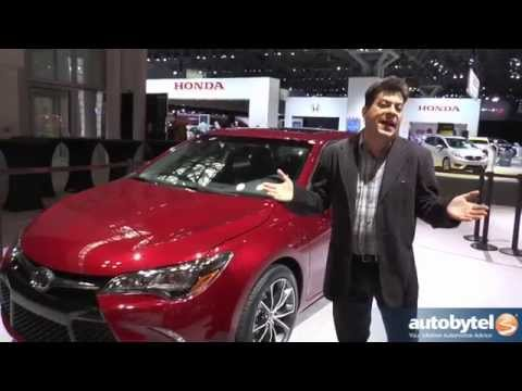 2015 Toyota Camry XSE *First Look* Debut @ New York Auto Show