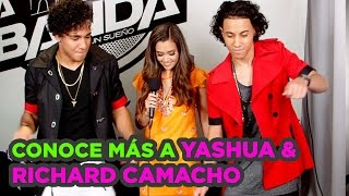 Yashua & Richard Camacho Dance Off #LaBanda