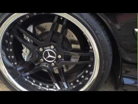 2003 Mercedes CL55 AMG Wheels and Exterior