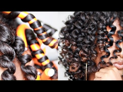 Tremendous How To Curl Natural Hair Without Heat Natural Hairstyles Runnerswayorg
