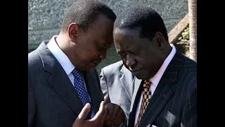 President Uhuru Kenyatta invites Raila Odinga for dialogue that never happened