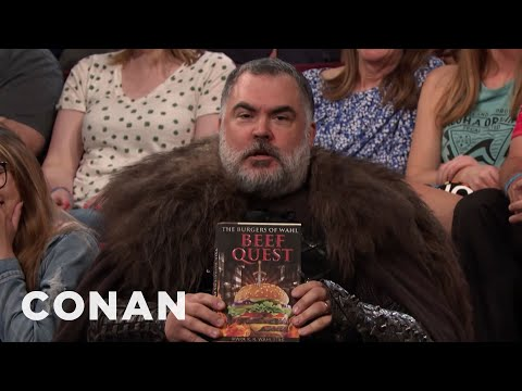 A Disappointed Super Fan Interrupts The Show - CONAN on TBS (видео)