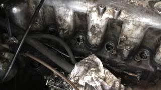 дымит двигатель мерседес 615