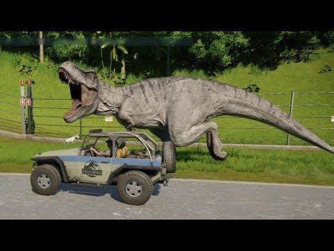 Safari Park Tour - Jurassic World Evolution Cinematic episode 12 (Season 3 FINALE)