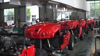 Farm Boss diesel UTV production line