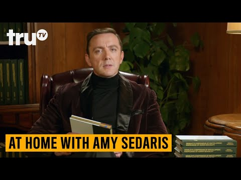 At Home with Amy Sedaris - A Word From Amy's Sponsor (ft. Peter Serafinowicz) | truTV