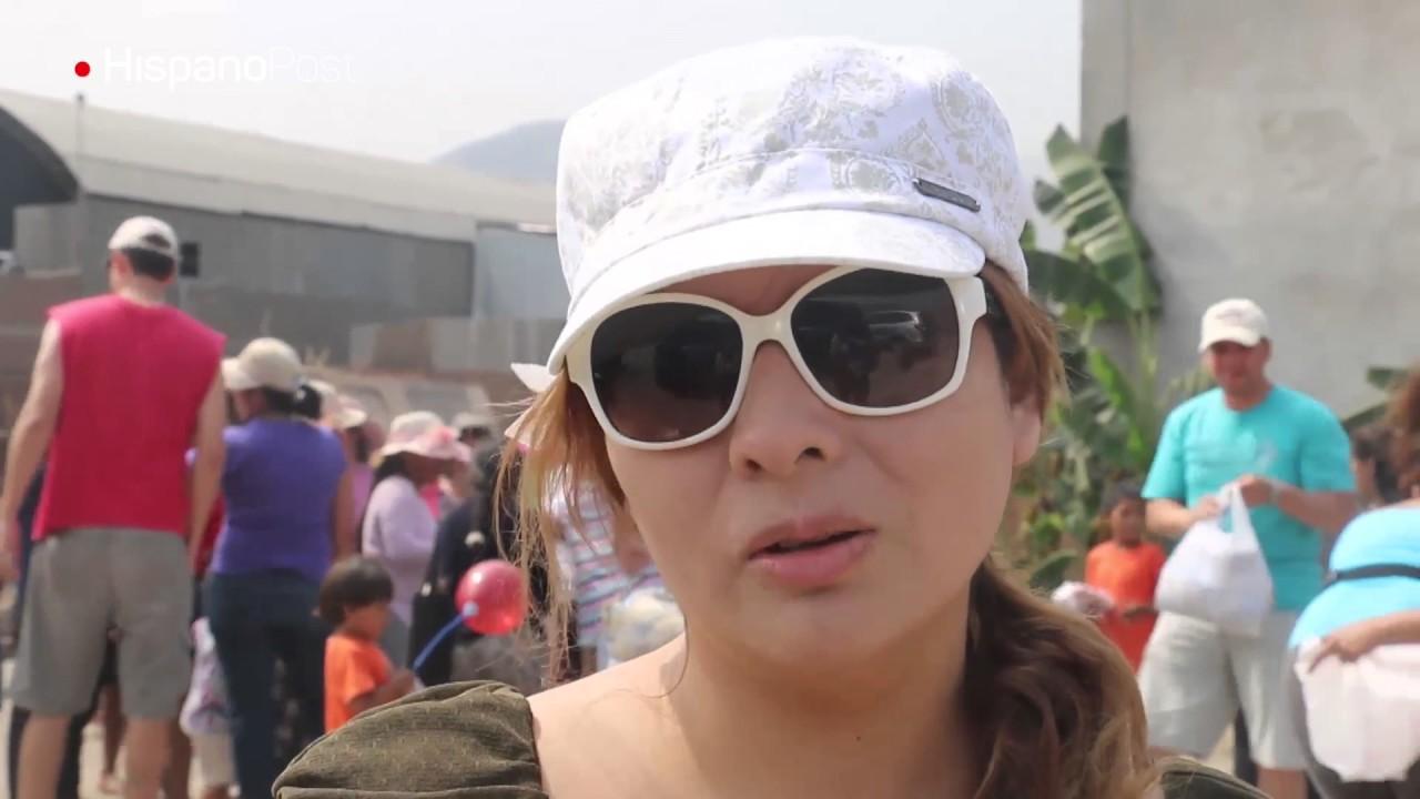 Peruanos se organizan para ayudar a quienes lo perdieron todo
