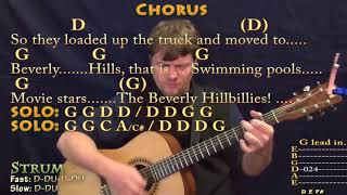 The Ballad of Jed Clampett (TV Theme) Strum Guitar Cover Lesson in G with Chords/Lyrics