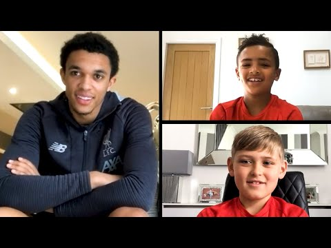 Liverpool U9s sign first deal and quiz Trent Alexander-Arnold