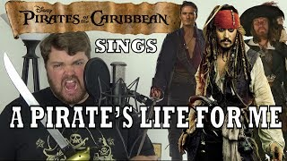 Pirates of the Caribbean Sings A Pirate's Life for Me