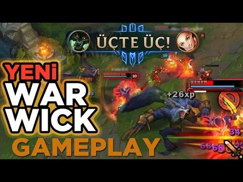 YENİ WARWICK OP!   PBE TÜRKÇE OYNANIŞ   Full Gameplay