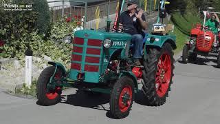 Starodobni traktorji na 15. Festivalu kmetijske tehnike