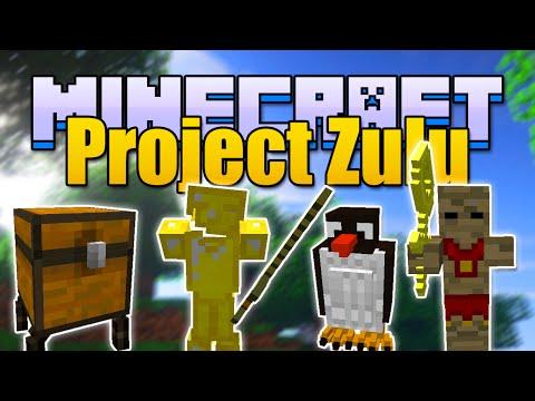 Minecraft PROJECT ZULU Mod - Penguins, Mummies, and More! (Minecraft v1.7.10 Mod Spotlight)