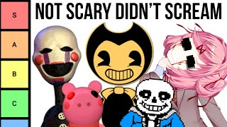 Ranking Every Indie Game Based On How Scary They Are