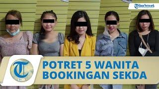 Potret 5 Wanita yang Dibooking Sekda Kabupaten Nias Utara saat Ditangkap Pesta Narkoba di Medan