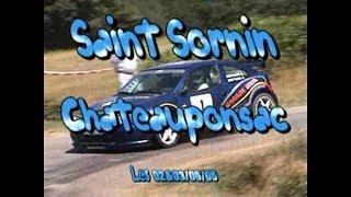 preview picture of video 'Rallye de Saint Sornin 2005'
