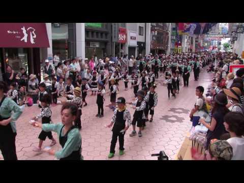 第63回よさこい祭り(2016/8/10)「もみのき幼稚園」