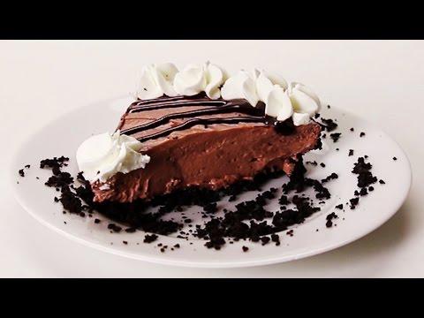 No-Bake Chocolate Cookie Cheesecake