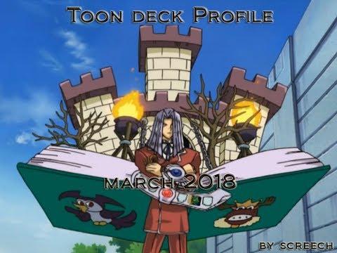 Yu-Gi-Oh Toon deck profile | March 2018