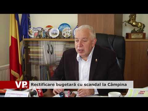 Rectificare bugetară cu scandal la Câmpina