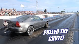 Taking The 1000Hp Prelude Down the Track For the First Time!