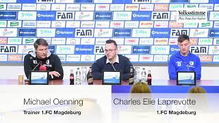 PK: FCM gegen Bielefeld